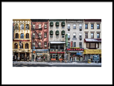 Buy this art print titled A Cold Day In NY by the artist Peter Pfeiffer