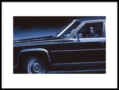 Buy this art print titled Driver (from the Series New York Blues) by the artist Dieter Matthes