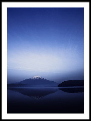 Buy this art print titled Early Morning Blue Symbol by the artist Takashi Suzuki
