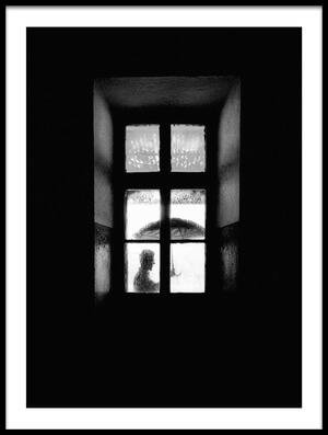 Buy this art print titled I Go Outside, When It Rains by the artist Carlo Ferrara