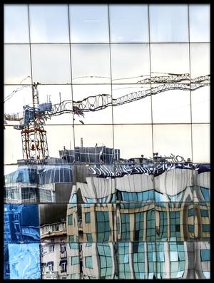 Buy this art print titled New City In Old City by the artist Ömer Ateş Kızıltuğ