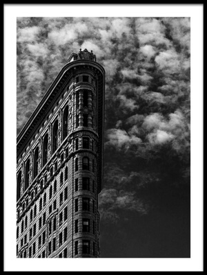 Buy this art print titled NYC, Flatiron by the artist Francesco Santini