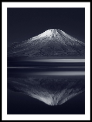 Buy this art print titled Reflection Mt Fuji by the artist Takashi Suzuki