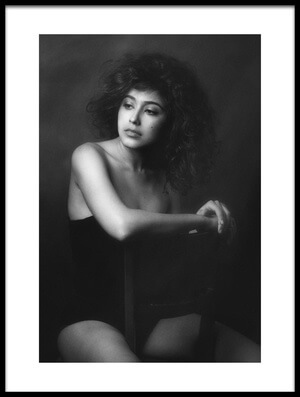 Buy this art print titled Sabina by the artist Zachar Rise