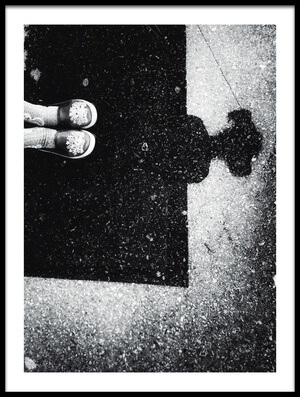 Buy this art print titled Shadow by the artist Ali Ayer