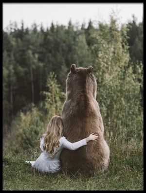 Buy this art print titled Sister Bear by the artist Olga Barantseva
