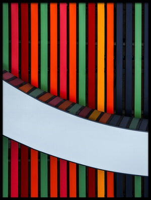 Buy this art print titled Stripes of Color by the artist Anna Niemiec