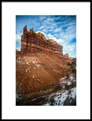 Buy this art print titled The Beautiful Sandstone Fin by the artist Rob Corkran