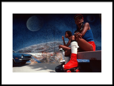 Buy this art print titled Venice, LA (from the Series American Symbols) by the artist Dieter Matthes