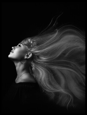 Buy this art print titled Wavy Hair by the artist Zachar Rise