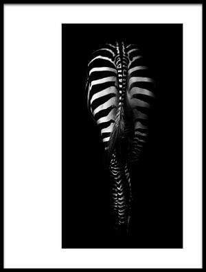 Buy this art print titled Zebra Buttocks by the artist Antonio Grambone