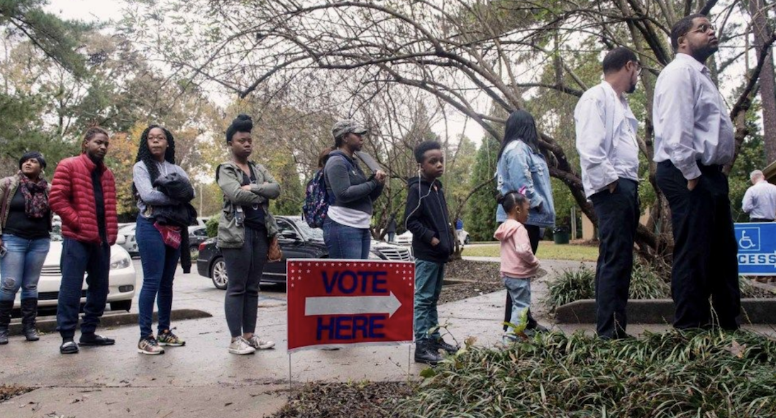 Election Day in Fairburn, Georgia, near Atlanta.Brian Cahn/ZUMA