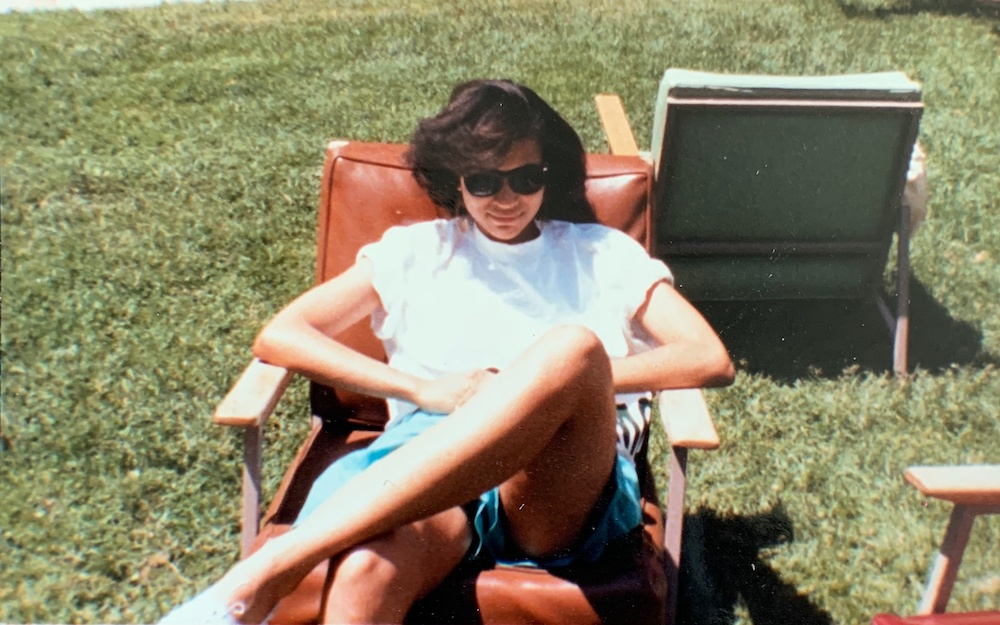 Young Maya Wiley at Dartmouth. / Maya Wiley