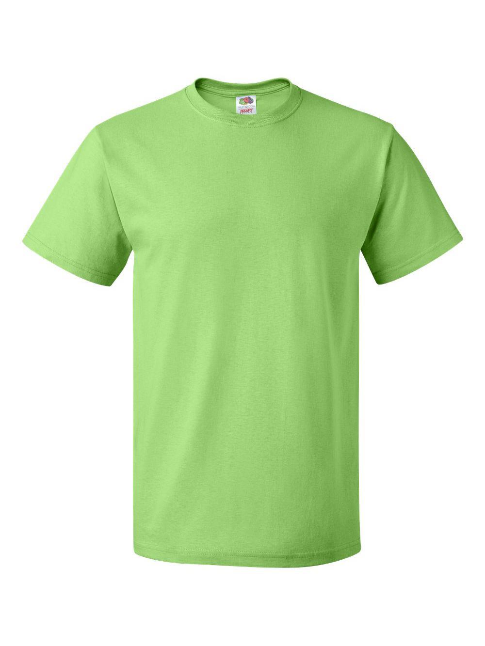 Fruit-of-the-Loom-HD-Cotton-Short-Sleeve-T-Shirt-3930R thumbnail 69