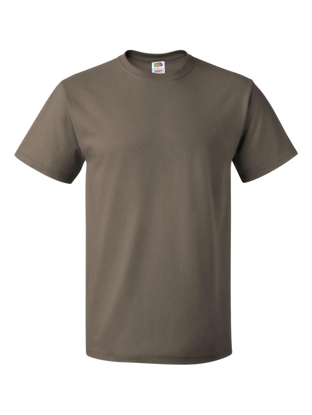Fruit-of-the-Loom-HD-Cotton-Short-Sleeve-T-Shirt-3930R thumbnail 114