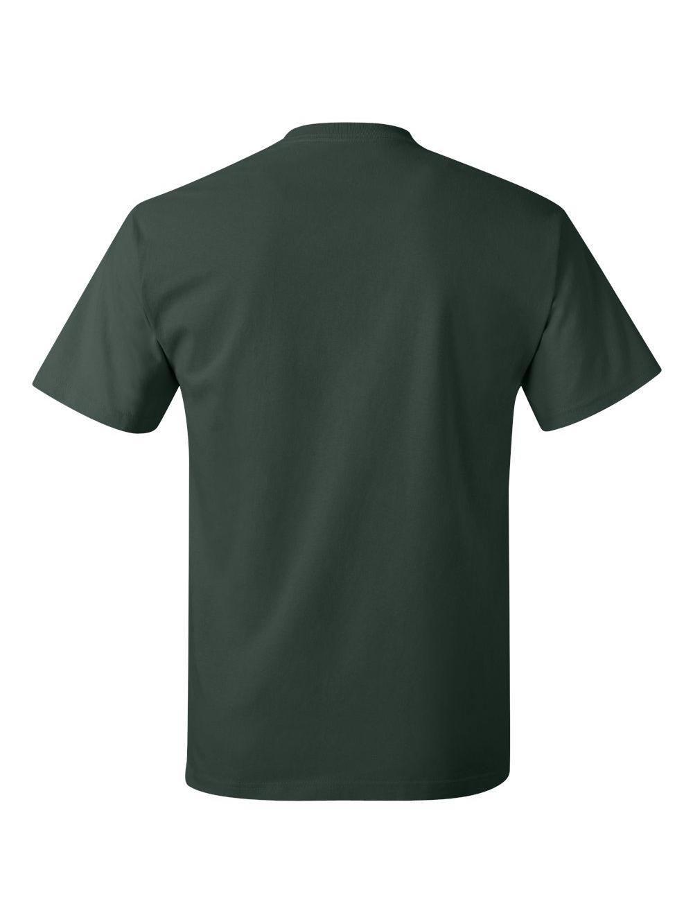 Hanes-Tagless-T-Shirt-5250 thumbnail 40