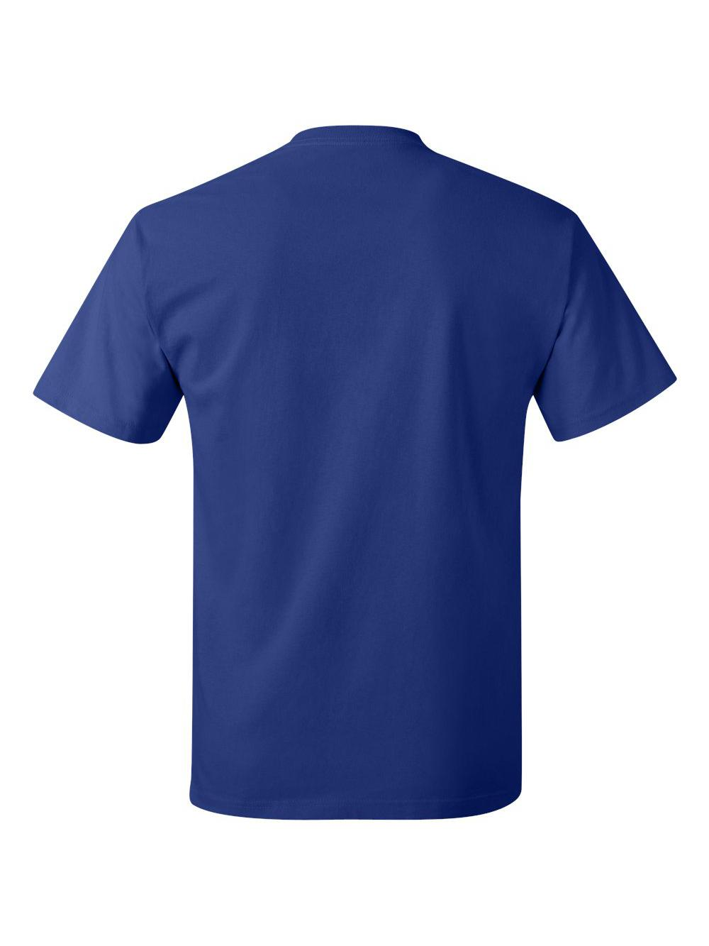 Hanes-Tagless-T-Shirt-5250 thumbnail 46