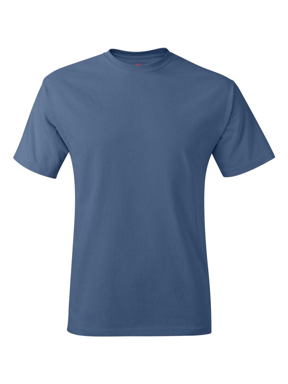 Hanes-Tagless-T-Shirt-5250 thumbnail 48