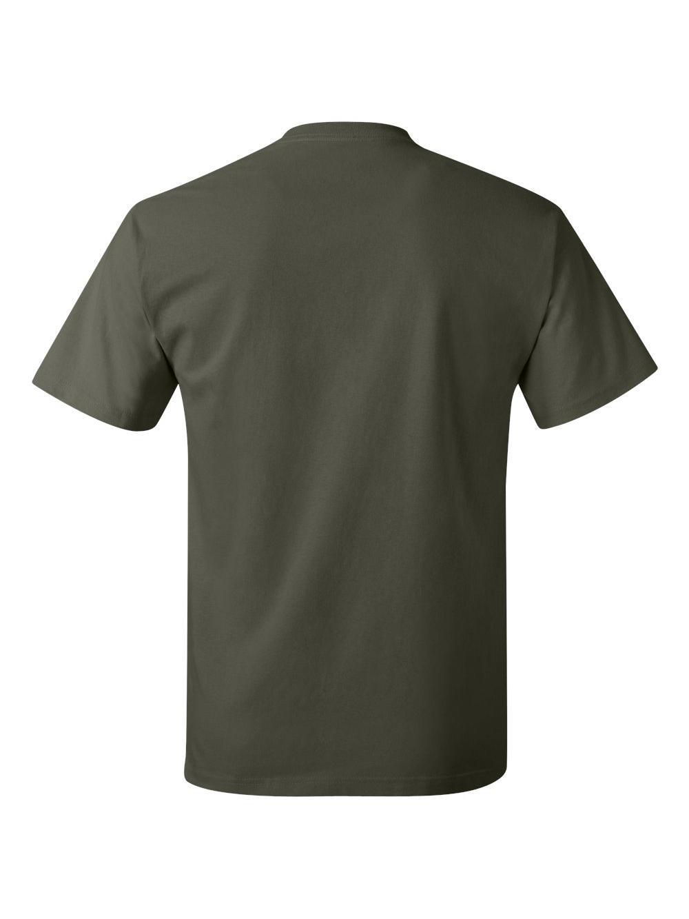 Hanes-Tagless-T-Shirt-5250 thumbnail 52