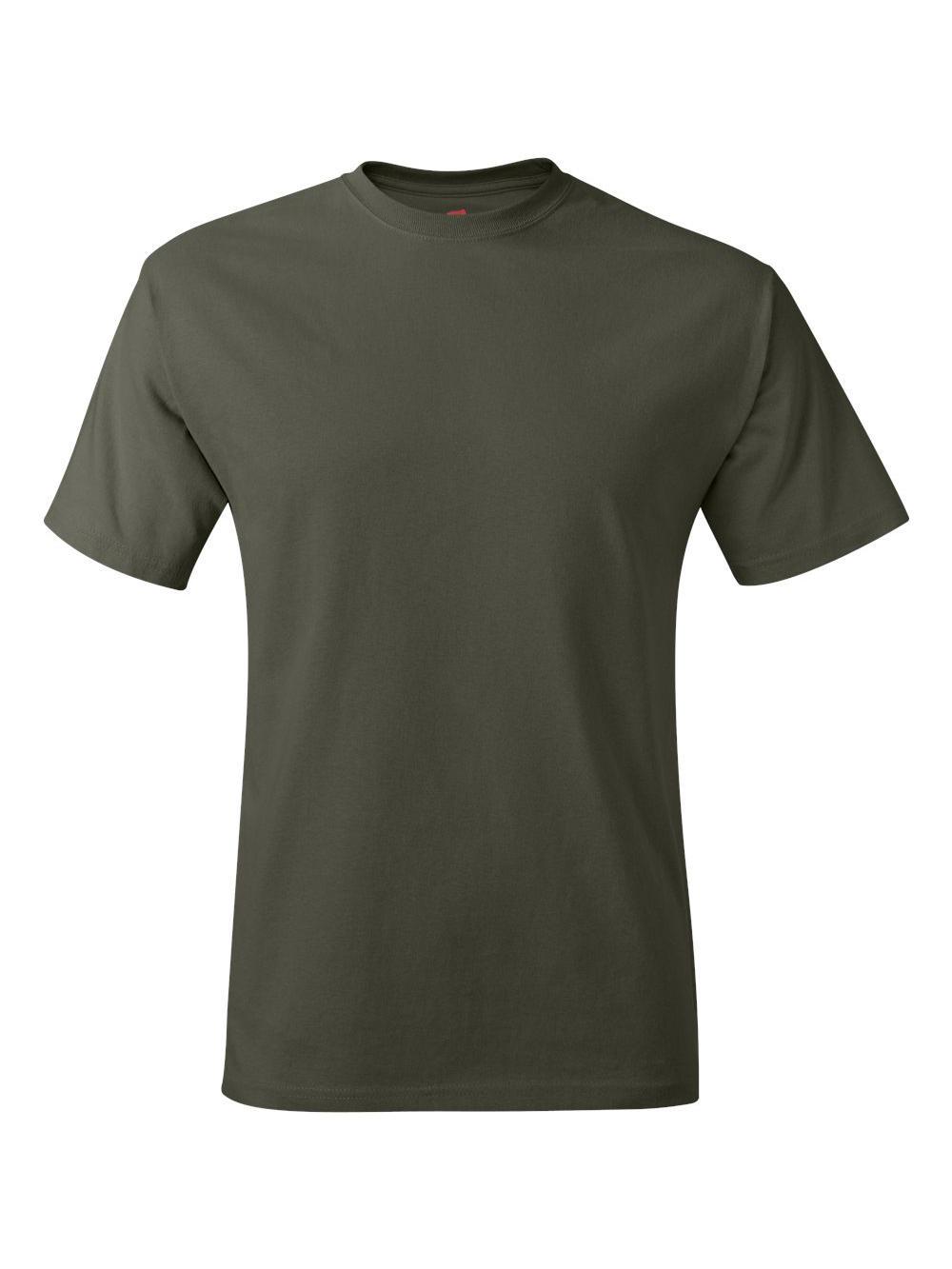 Hanes-Tagless-T-Shirt-5250 thumbnail 51