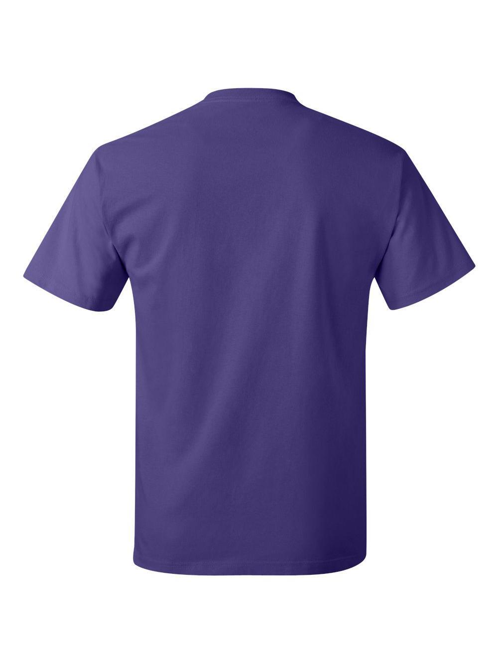 Hanes-Tagless-T-Shirt-5250 thumbnail 97