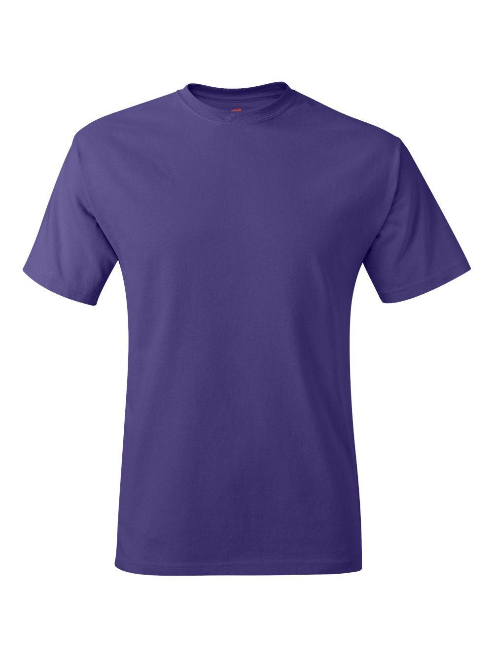 Hanes-Tagless-T-Shirt-5250 thumbnail 96
