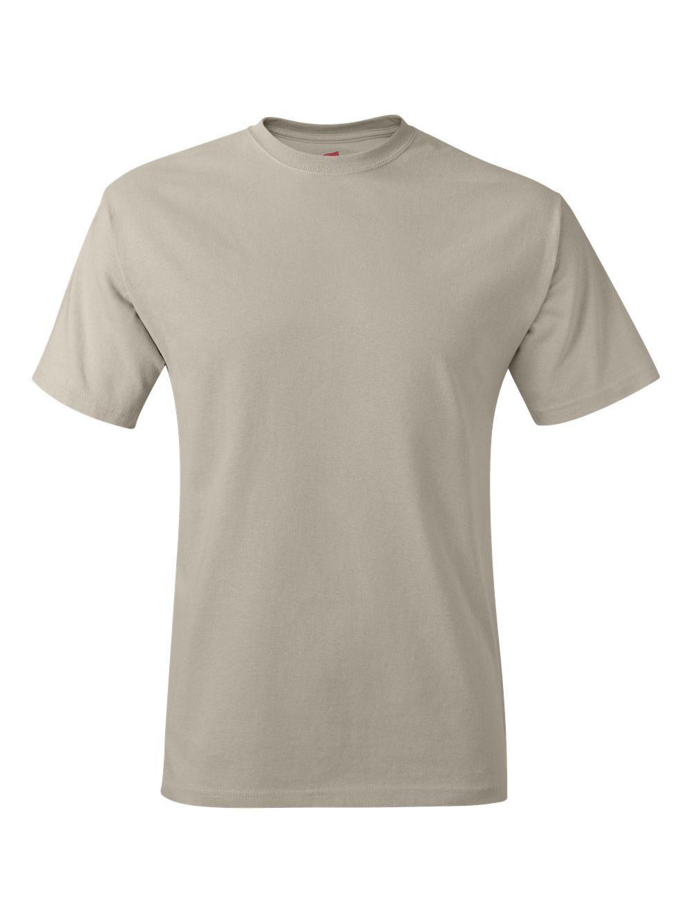 Hanes-Tagless-T-Shirt-5250 thumbnail 105
