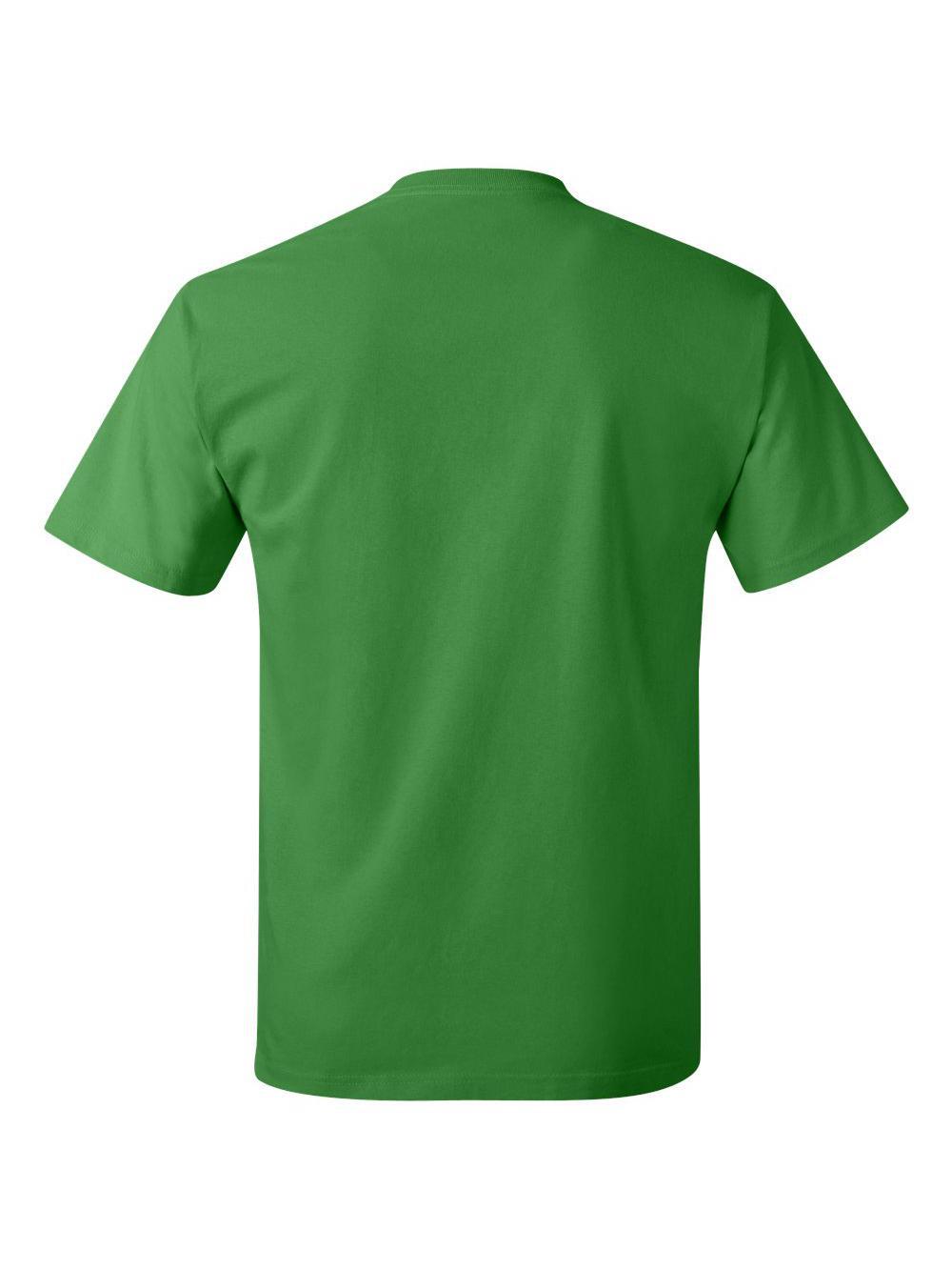 Hanes-Tagless-T-Shirt-5250 thumbnail 112