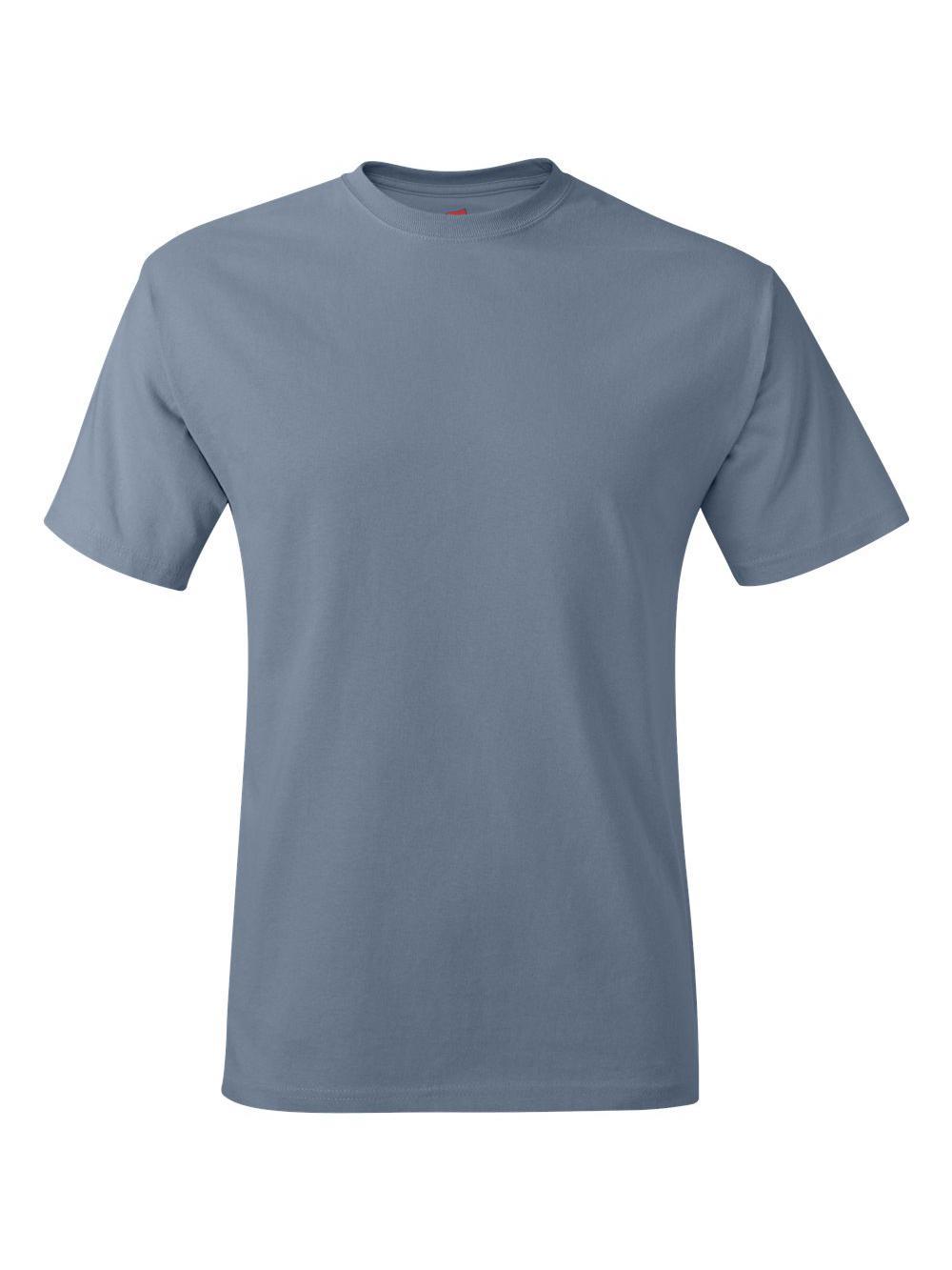 Hanes-Tagless-T-Shirt-5250 thumbnail 117