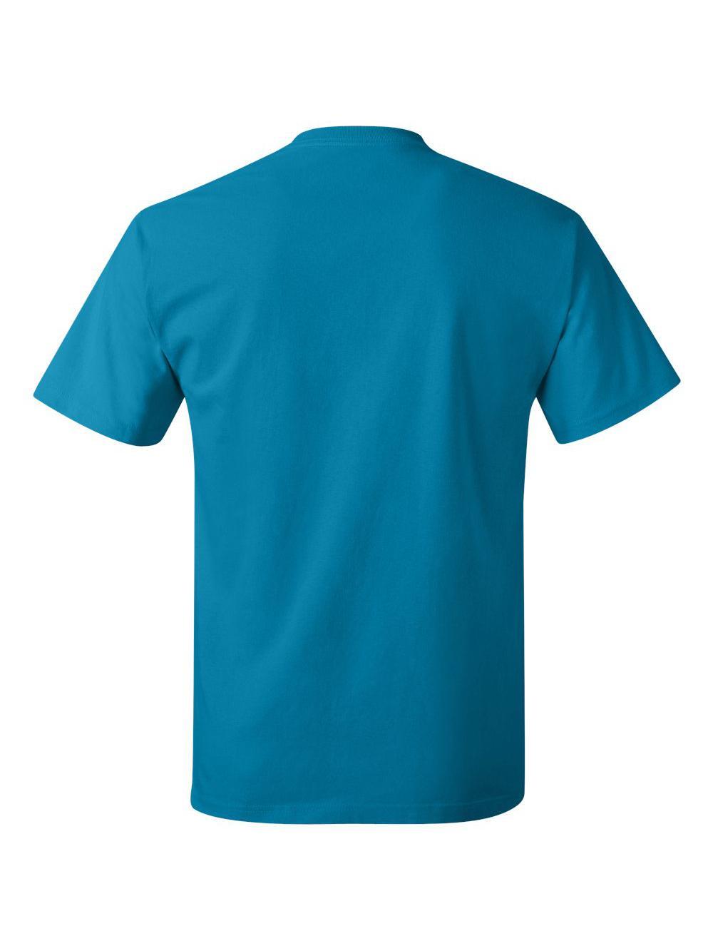 Hanes-Tagless-T-Shirt-5250 thumbnail 124