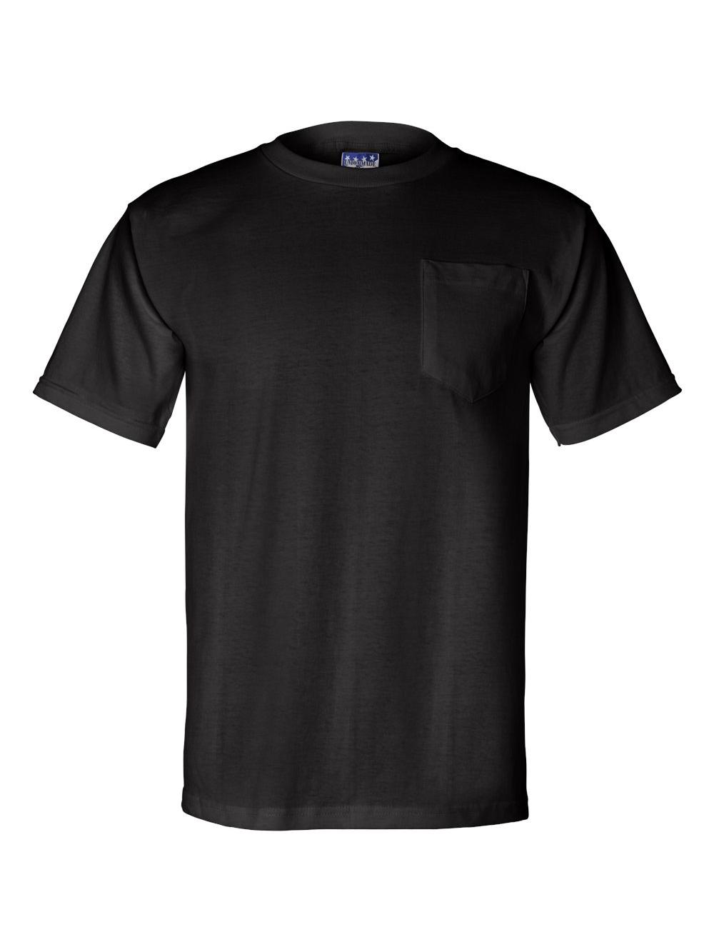 Bayside-Union-Made-Short-Sleeve-T-Shirt-with-a-Pocket-3015 thumbnail 6