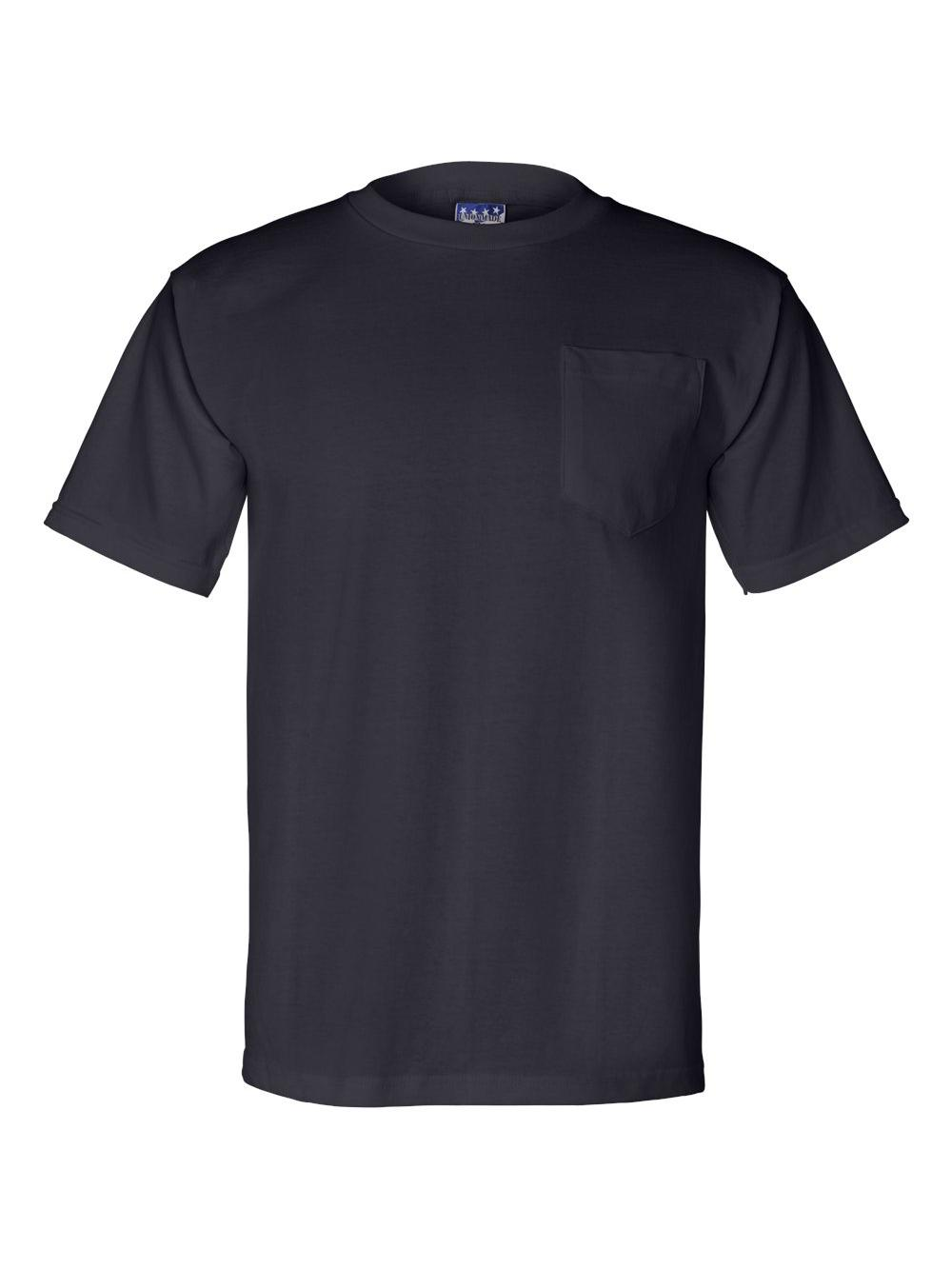 Bayside-Union-Made-Short-Sleeve-T-Shirt-with-a-Pocket-3015 thumbnail 18