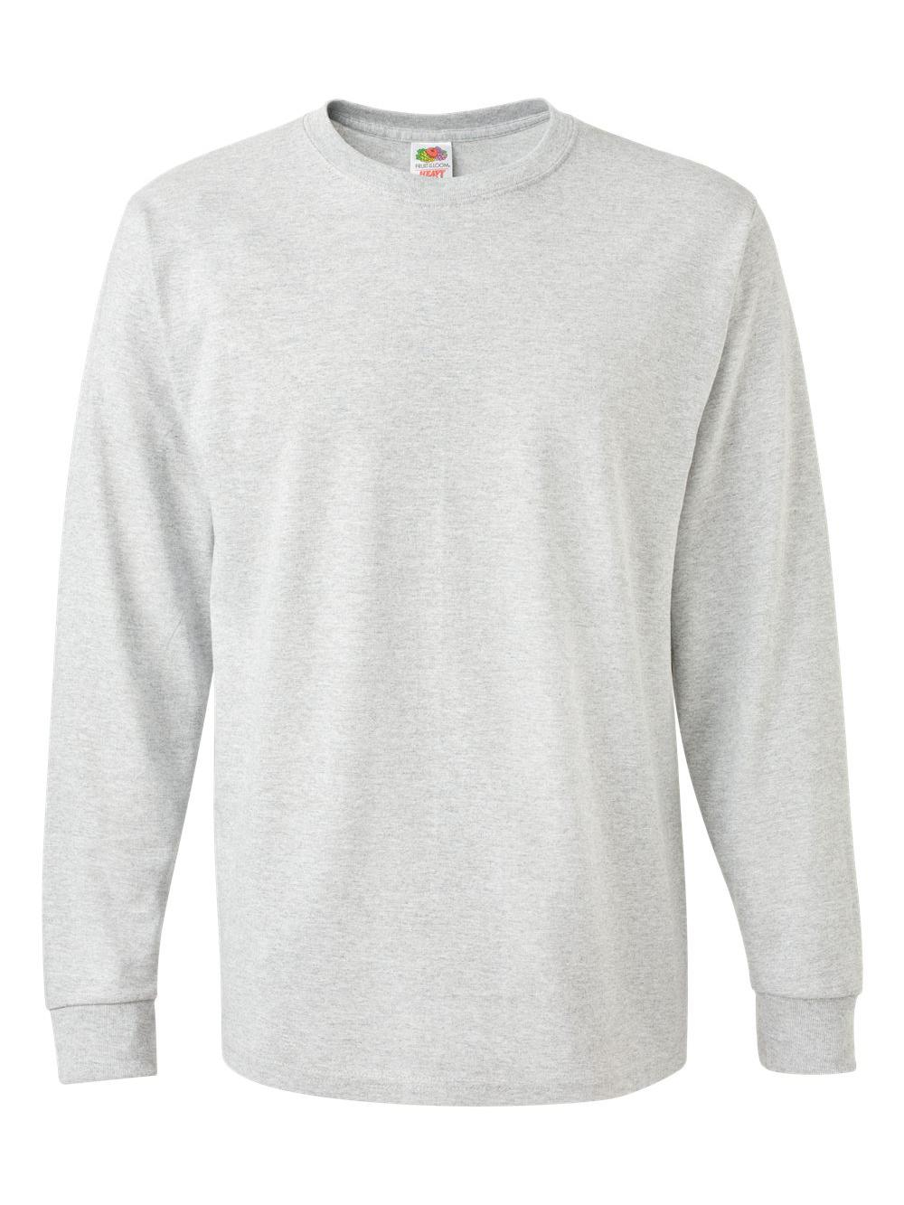 Fruit-of-the-Loom-HD-Cotton-Long-Sleeve-T-Shirt-4930R thumbnail 3