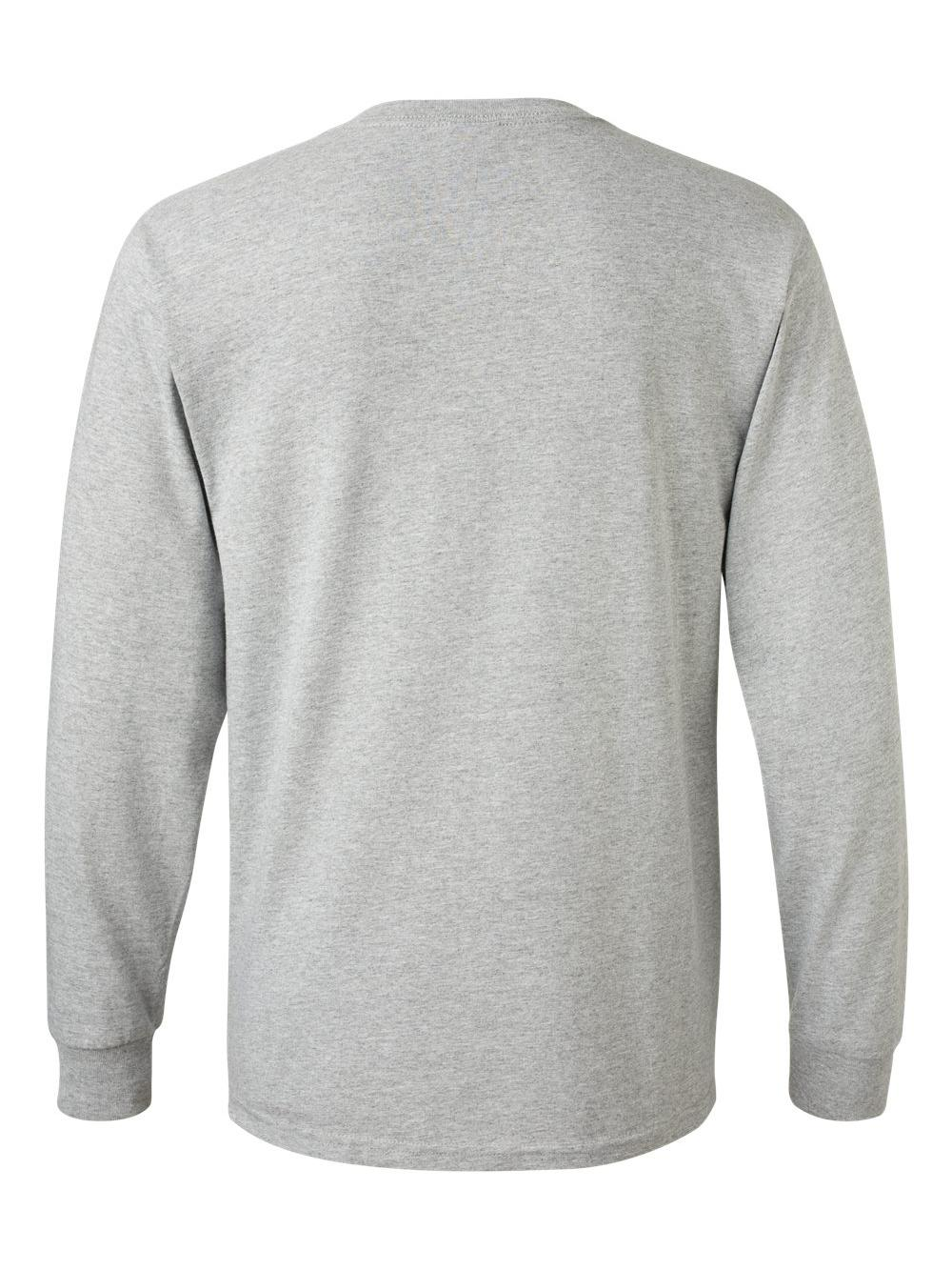 Fruit-of-the-Loom-HD-Cotton-Long-Sleeve-T-Shirt-4930R thumbnail 7