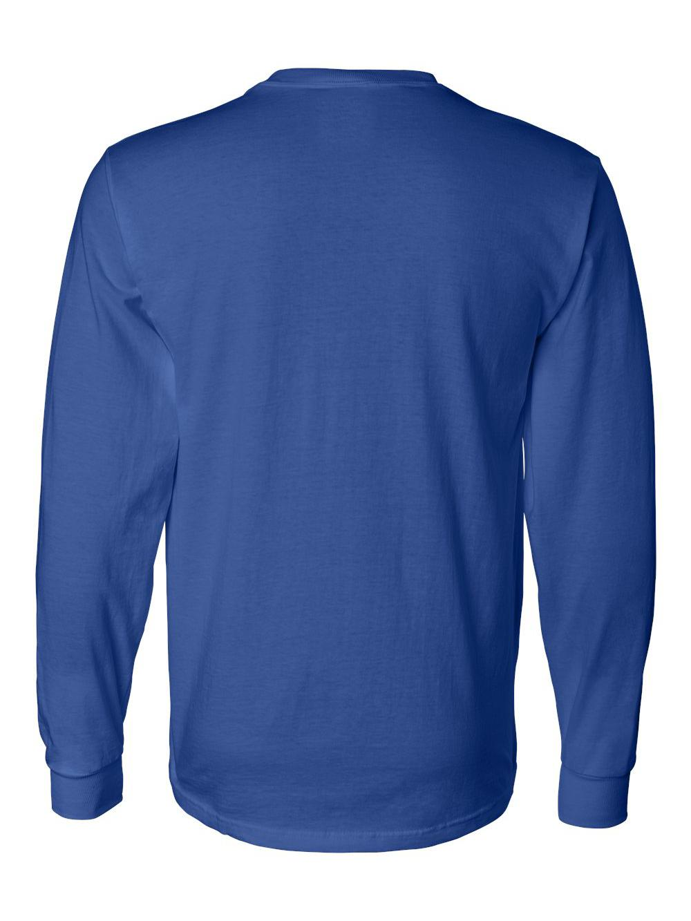 Fruit-of-the-Loom-HD-Cotton-Long-Sleeve-T-Shirt-4930R thumbnail 70