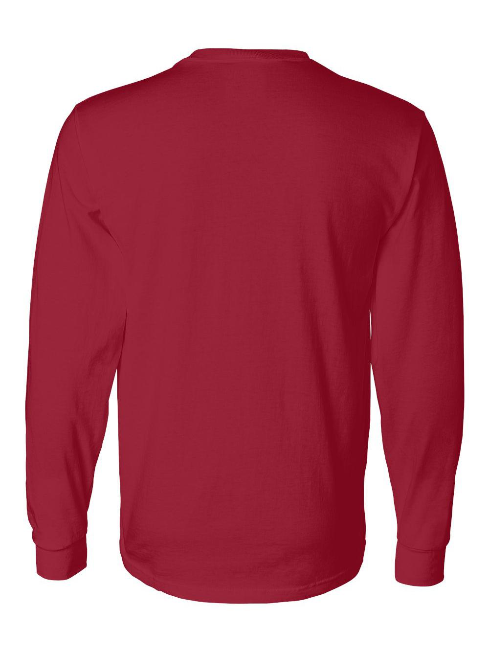 Fruit-of-the-Loom-HD-Cotton-Long-Sleeve-T-Shirt-4930R thumbnail 76