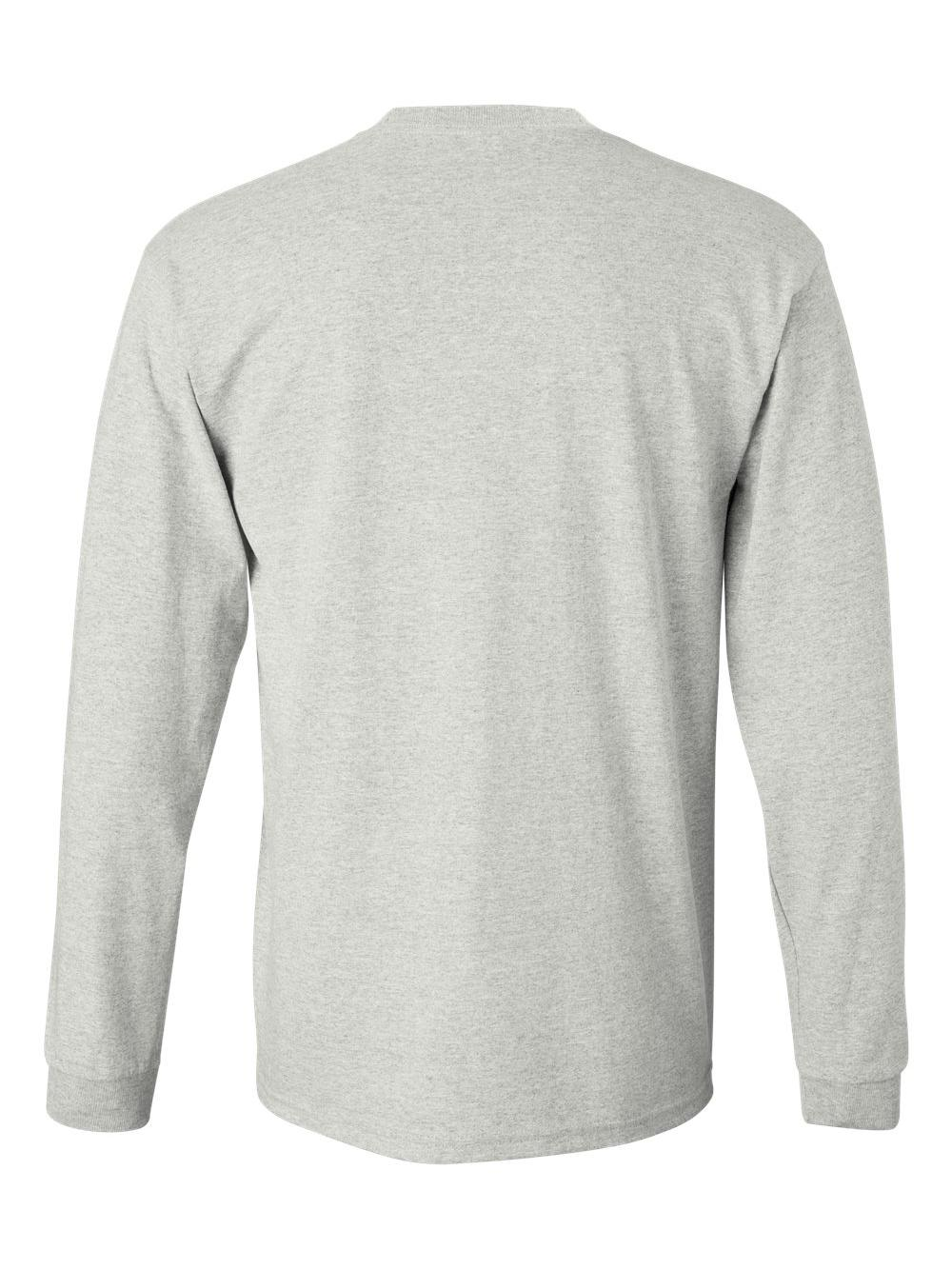 Gildan-Ultra-Cotton-Long-Sleeve-T-Shirt-2400 thumbnail 4