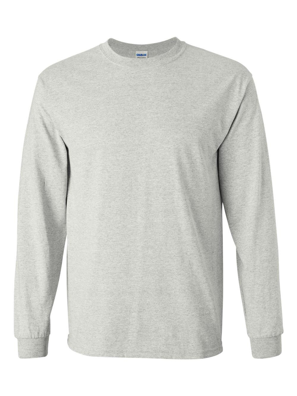 Gildan-Ultra-Cotton-Long-Sleeve-T-Shirt-2400 thumbnail 3