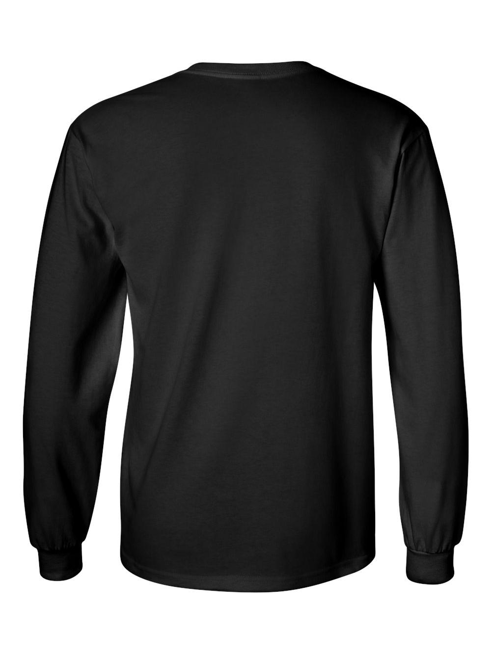 Gildan-Ultra-Cotton-Long-Sleeve-T-Shirt-2400 thumbnail 7