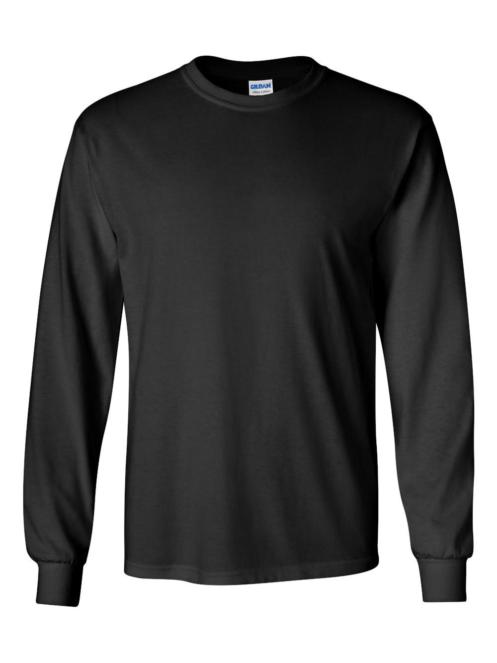 Gildan-Ultra-Cotton-Long-Sleeve-T-Shirt-2400 thumbnail 6