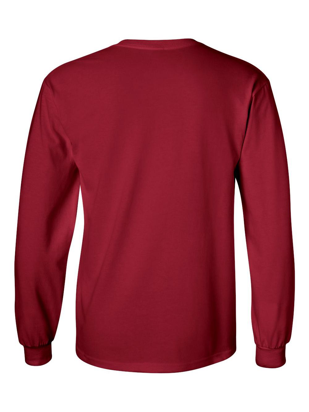 Gildan-Ultra-Cotton-Long-Sleeve-T-Shirt-2400 thumbnail 10