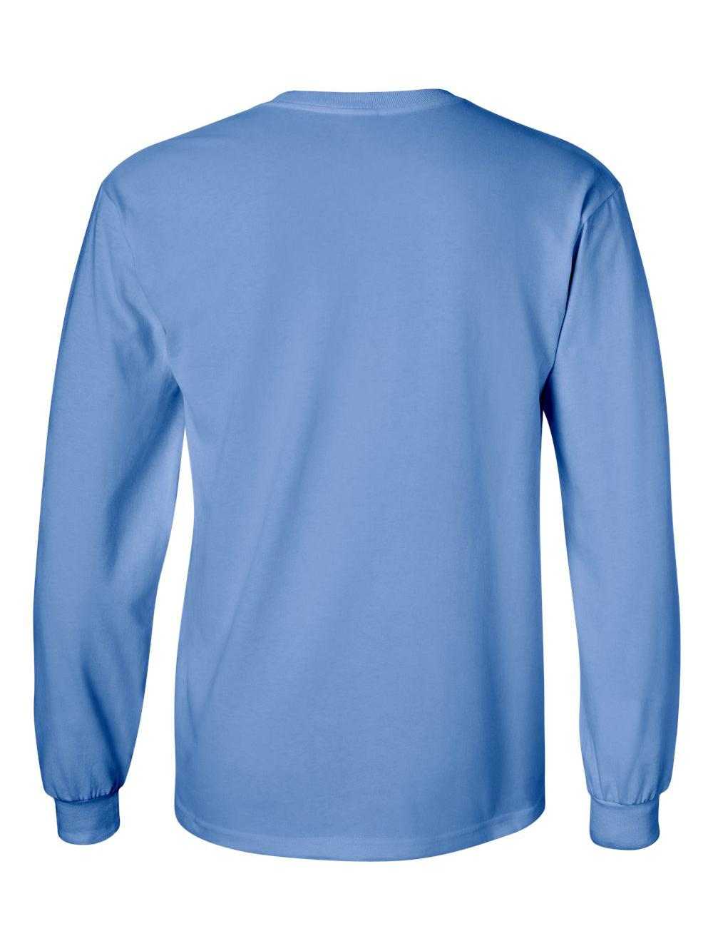 Gildan-Ultra-Cotton-Long-Sleeve-T-Shirt-2400 thumbnail 13