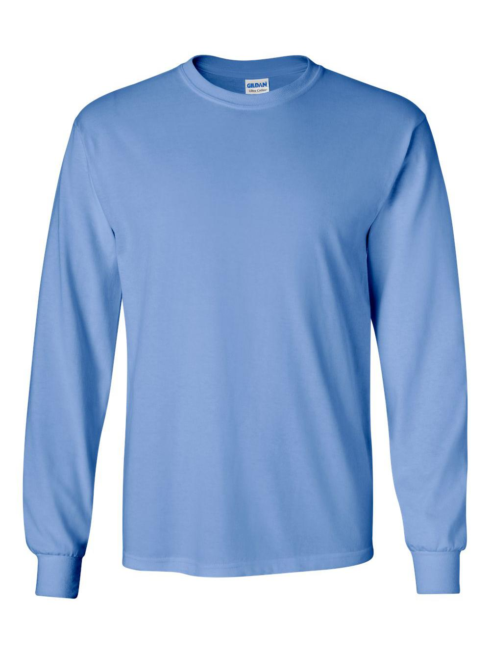 Gildan-Ultra-Cotton-Long-Sleeve-T-Shirt-2400 thumbnail 12