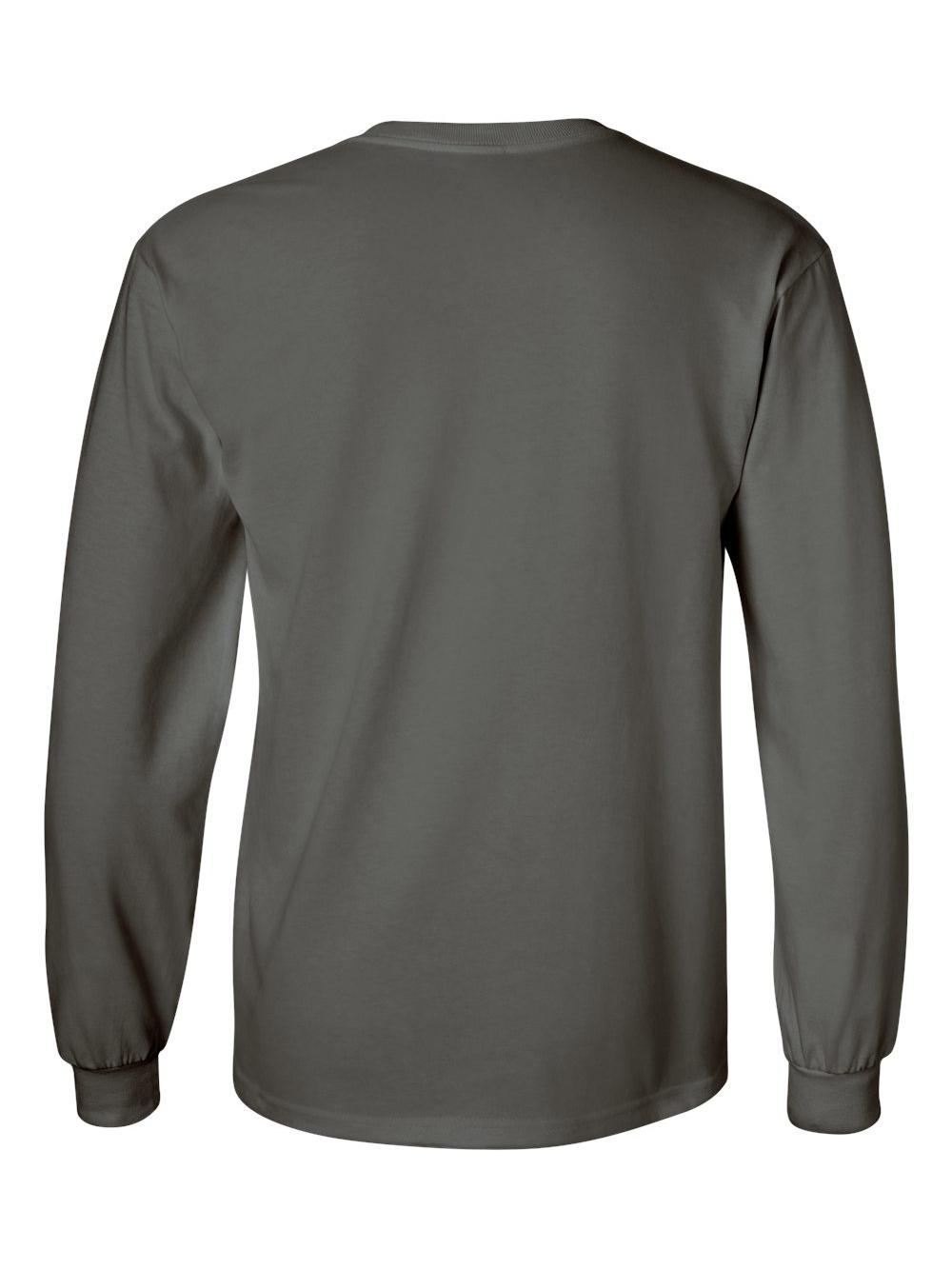 Gildan-Ultra-Cotton-Long-Sleeve-T-Shirt-2400 thumbnail 16