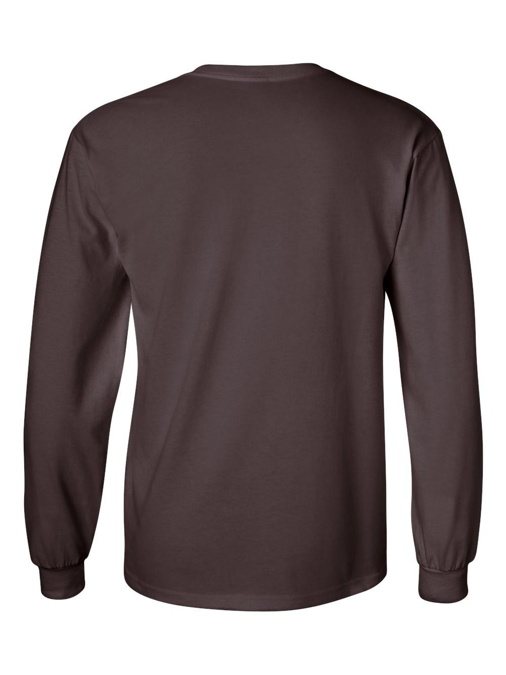 Gildan-Ultra-Cotton-Long-Sleeve-T-Shirt-2400 thumbnail 19