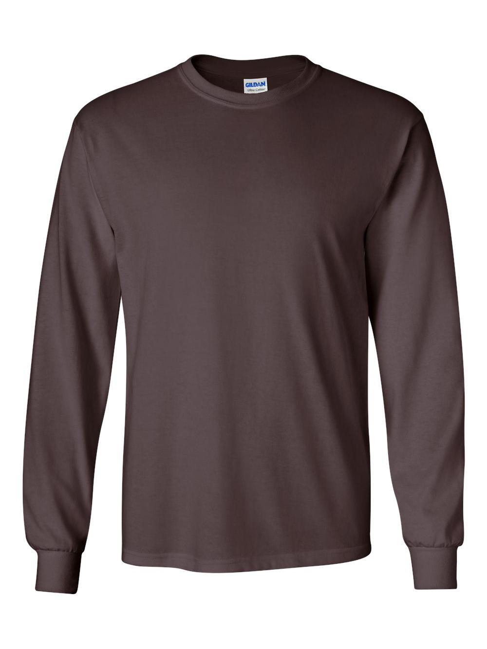 Gildan-Ultra-Cotton-Long-Sleeve-T-Shirt-2400 thumbnail 18