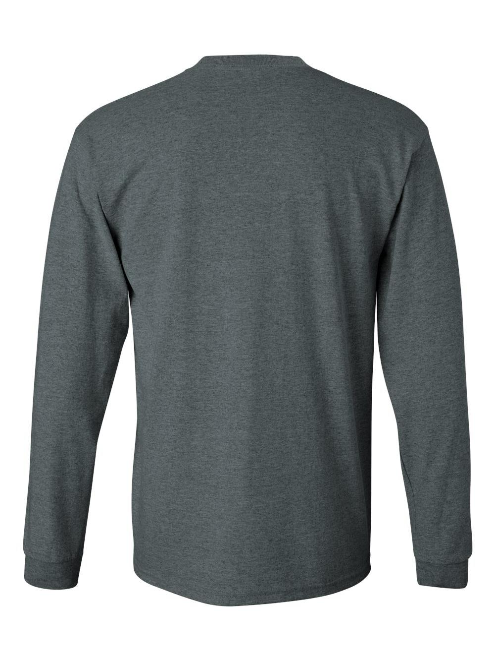 Gildan-Ultra-Cotton-Long-Sleeve-T-Shirt-2400 thumbnail 22