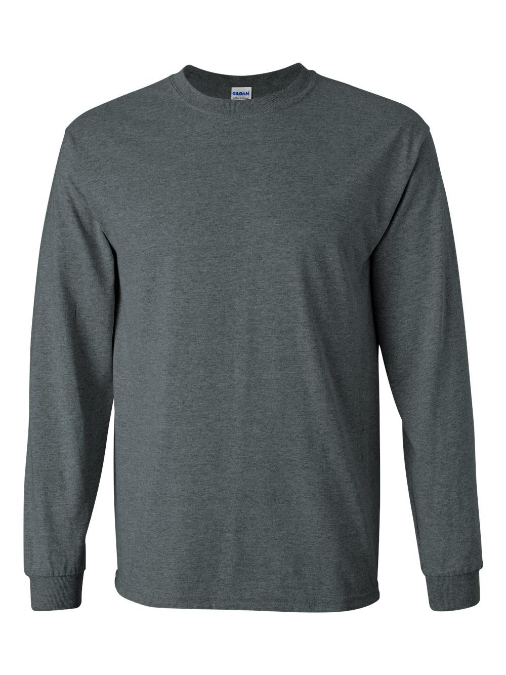 Gildan-Ultra-Cotton-Long-Sleeve-T-Shirt-2400 thumbnail 21