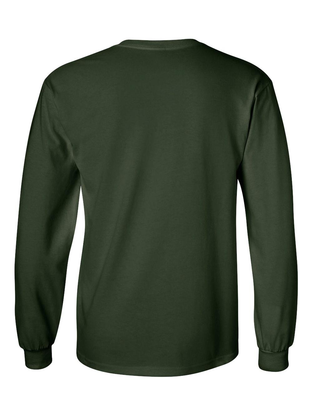 Gildan-Ultra-Cotton-Long-Sleeve-T-Shirt-2400 thumbnail 25