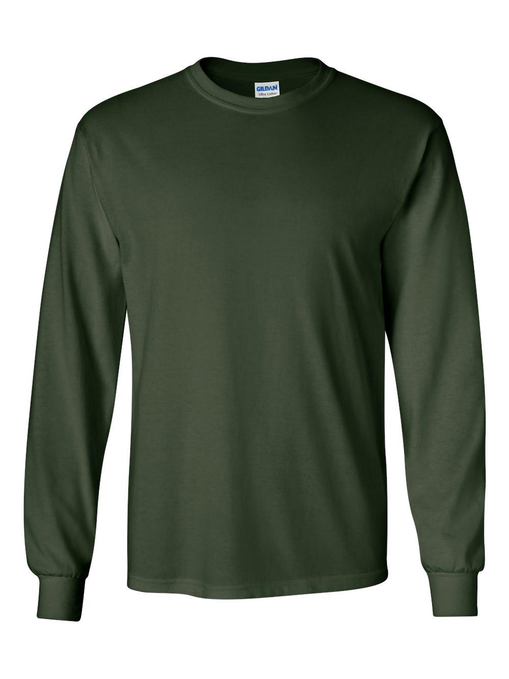 Gildan-Ultra-Cotton-Long-Sleeve-T-Shirt-2400 thumbnail 24